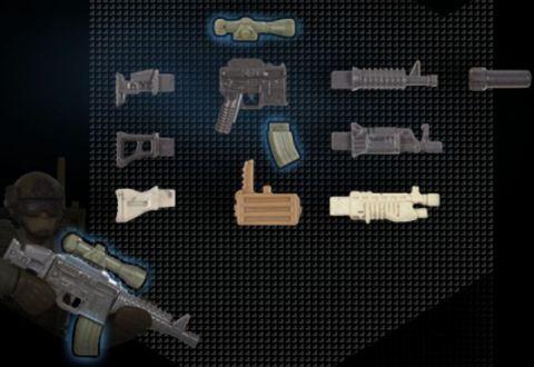 LEGO vs. Mega Bloks Guns