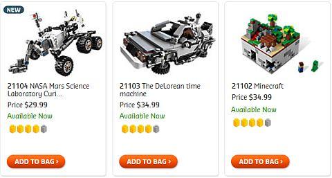 Shop LEGO CUUSOO