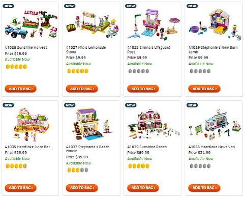 Shop LEGO Friends Sets