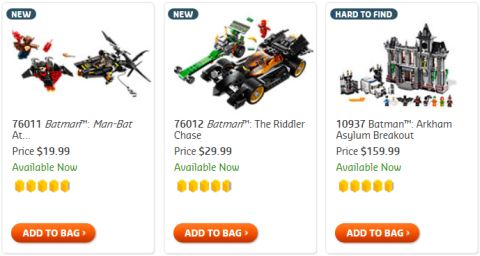 Shop LEGO Super Heroes Batman Sets