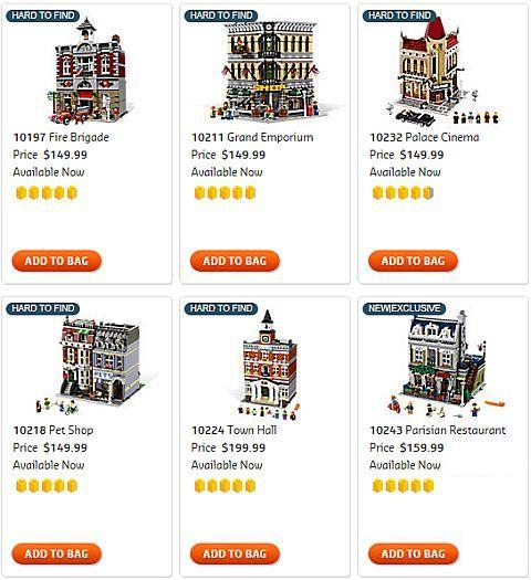 Shop for LEGO Modular Buildings