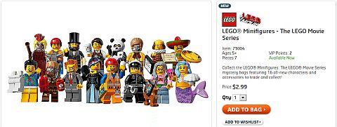 Shop for The LEGO Movie Minifigs