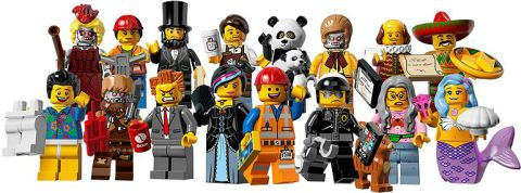 Shop for The LEGO Movie Minifigures