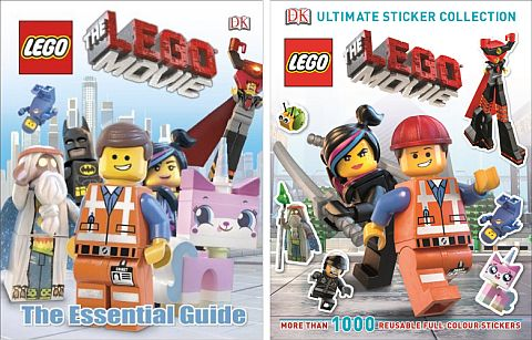 The LEGO Movie Books by DK Publishing
