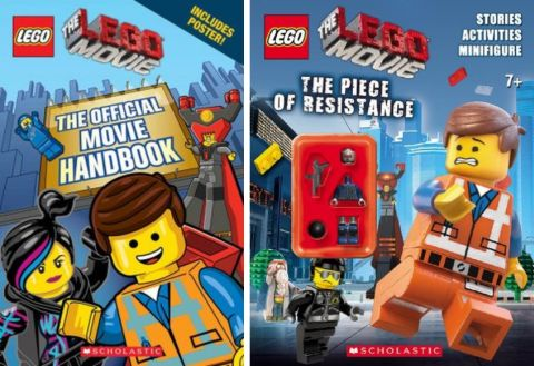 The LEGO Movie Books by Scholastic