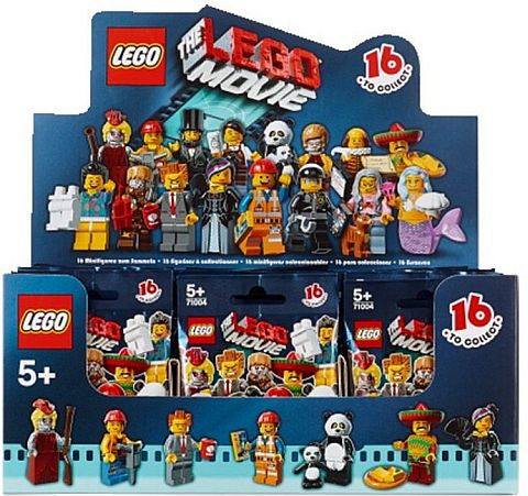 The LEGO Movie Minifigures