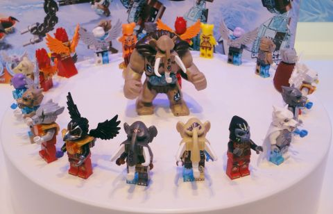 2014 LEGO Legends of Chima Minifigures