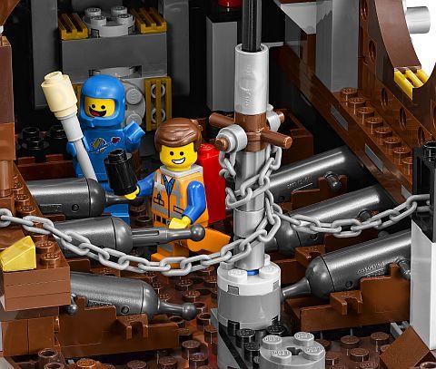 #70810 LEGO MetalBeard's Sea Cow Details