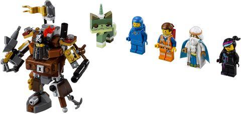#70810 LEGO MetalBeard's Ship Minifigures
