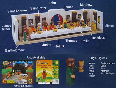 LEGO Christian Sets by Trinity Toyz
