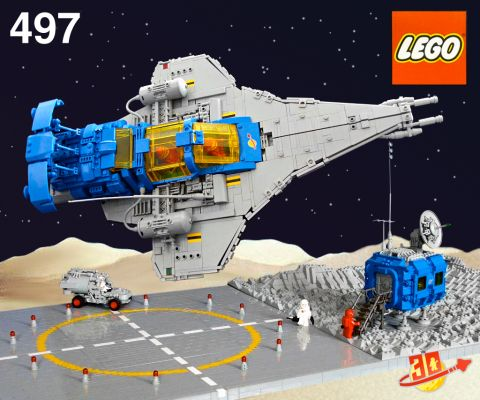 LEGO Classic Space Galaxy Explored by Peter Reid