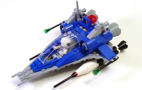 LEGO Classis Space Ship by Peter Morris