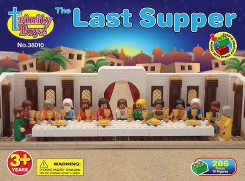 LEGO Last Supper by Trinity Toyz