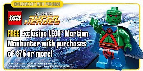 LEGO Martial Manhunter