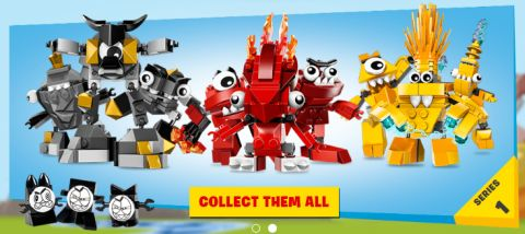 LEGO Mixels Available Now