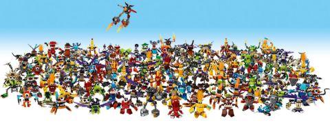 LEGO Mixels Characters
