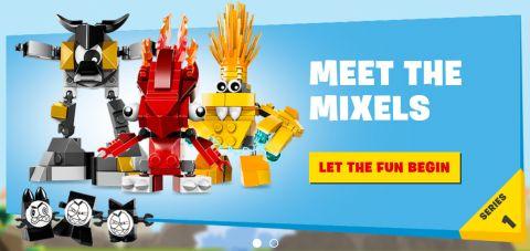 LEGO Mixels Website