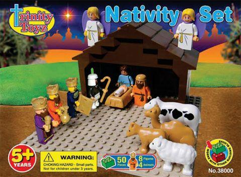 LEGO Nativity Set by Trinity Toys
