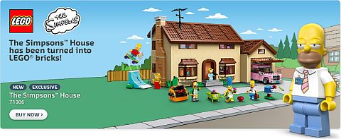 LEGO The Simpsons House Available Now