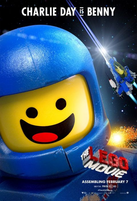 The LEGO Movie Benny Poster