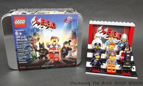 The LEGO Movie PR Tin