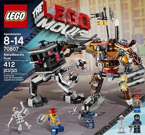 #70807 LEGO MetalBeard's Duel Review