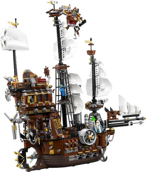 #70810 LEGO MetalBeard's Sea Cow Details