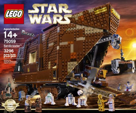#75059 LEGO Star Wars Sandcrawler Box