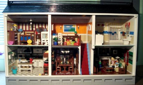Heather Braaten LEGO Doll House 2