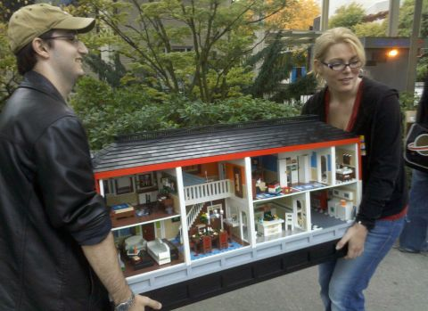 Heather Braaten LEGO Doll House