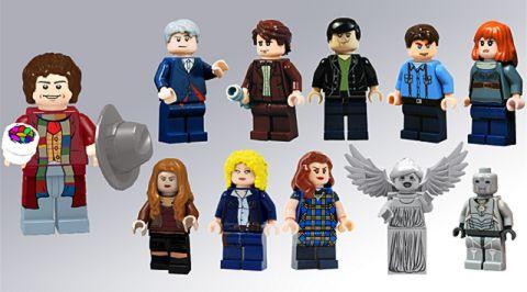 LEGO CUUSOO Doctor Who Minifigures