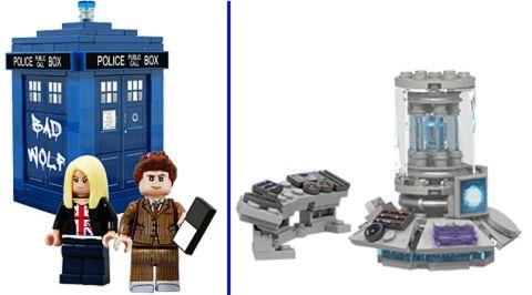 LEGO CUUSOO Doctor Who TARDIS