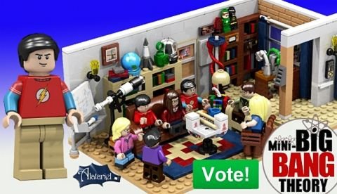LEGO CUUSOO The Big Bang Theory Details