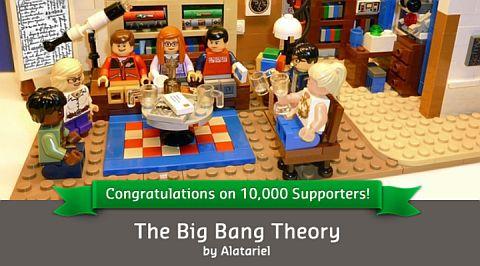 LEGO CUUSOO The Big Bang Theory