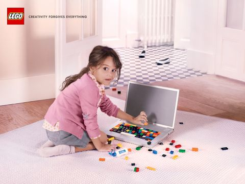 LEGO Creativity Forgives Everything Computer