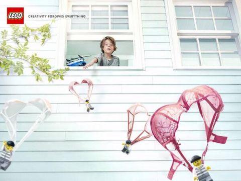 LEGO Creativity Forgives Everything Parachutes