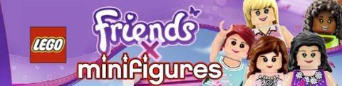 LEGO Friends Minifigures by Dorayakiameri