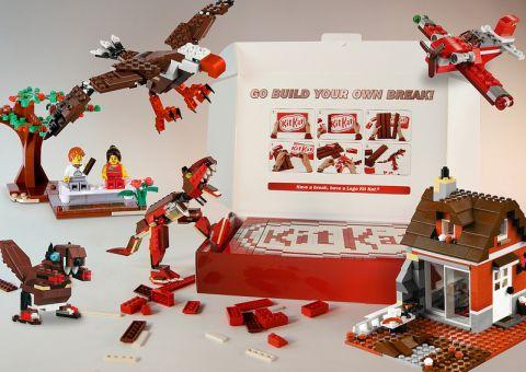 LEGO KIT KAT Box Details