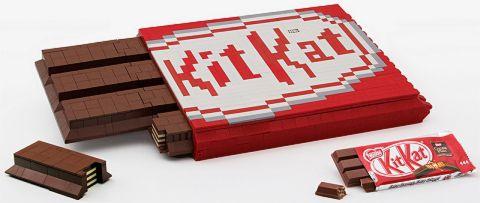 LEGO KIT KAT Chocolate Bar
