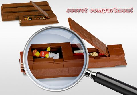 LEGO KIT KAT Chocolate Secret Compartment