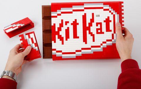 LEGO KIT KAT Chocolate