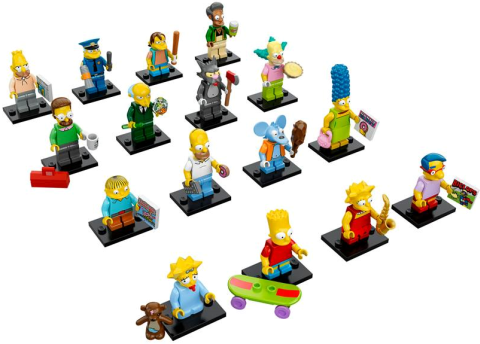 LEGO Minifigures The Simpsons