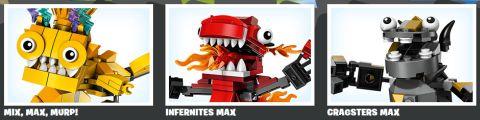 LEGO Mixels Max Models
