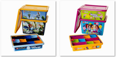 LEGO Storage Boxes LEGO Friends