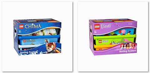 LEGO Storage & Sorting Boxes