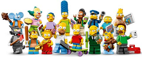 LEGO The Simpsons Collectible Minifigures
