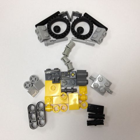LEGO WALL-E Parts by Miro78