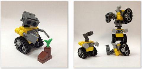 LEGO WALL-E Robot by Miro78