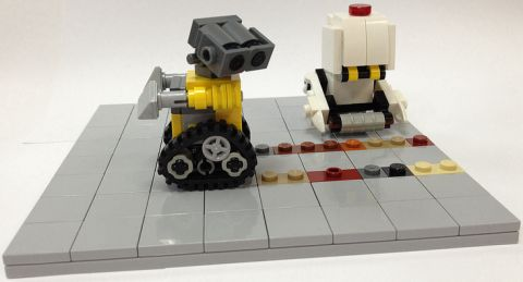 LEGO WALL-E Tracks by Miro78
