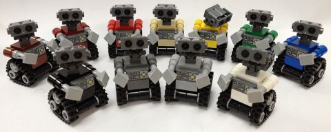 LEGO WALL-E Variations by Miro78